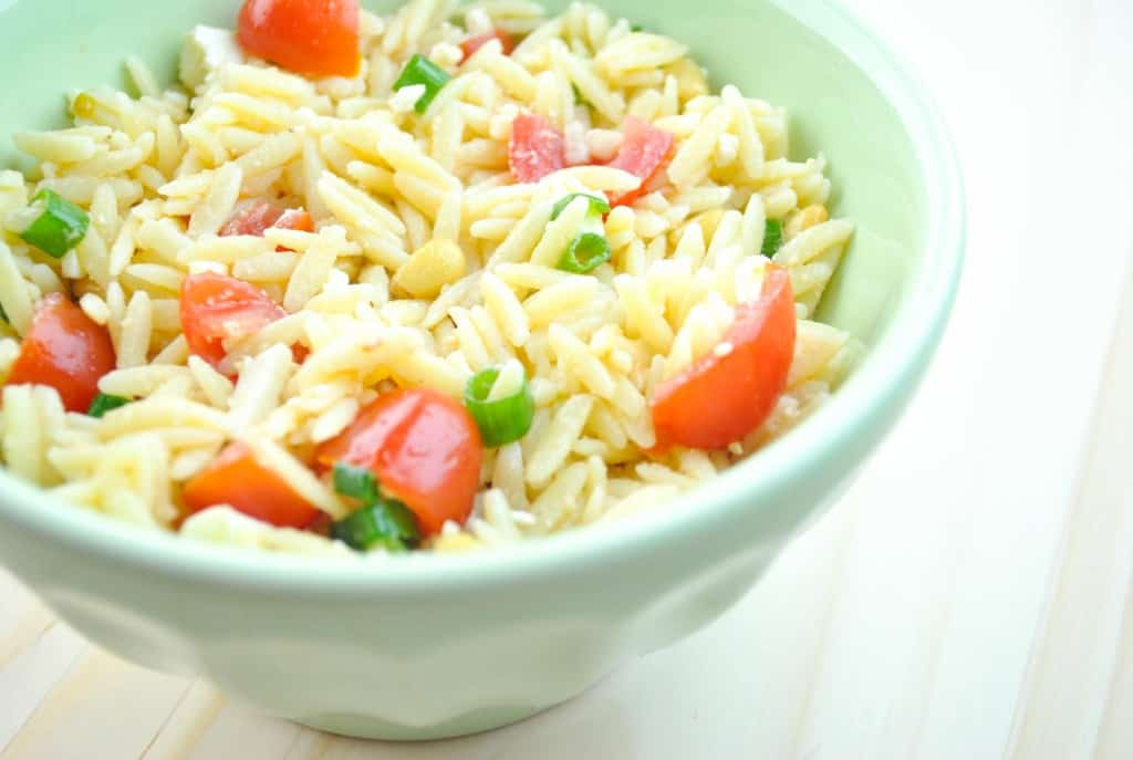 Orzo Salad - The Culinary Compass