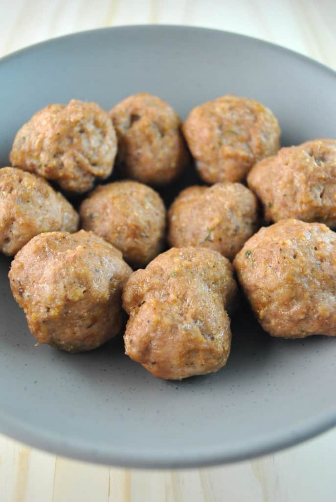 Turkey Meatball 3- The Culinary Compass