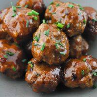 Quick Baked Turkey Meatballs