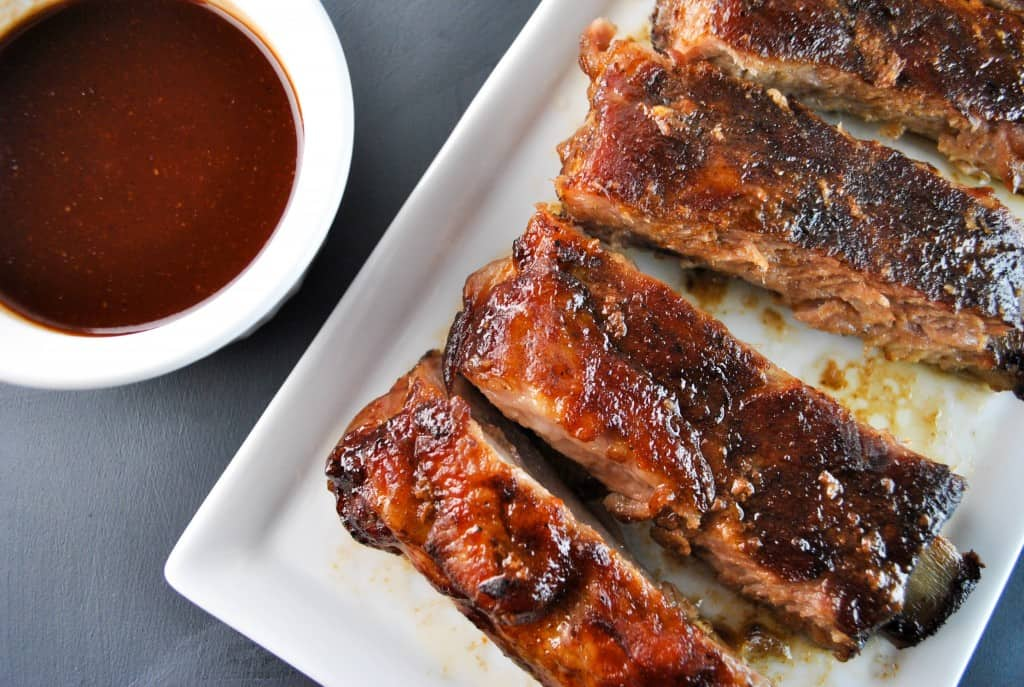 Maple Brown Sugar BBQ Ribs 2- The Culinary Compass