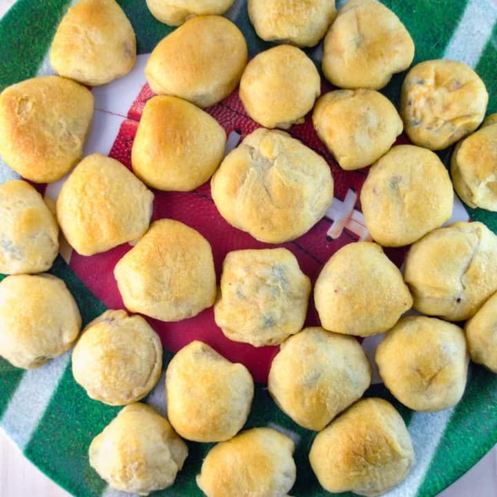 Roasted Jalapeño Popper Bites
