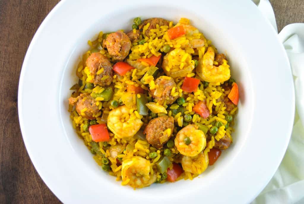 Shrimp and Chorizo - The Culinary Compass