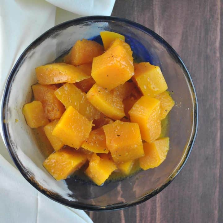 Maple Cayenne Roasted Butternut Squash