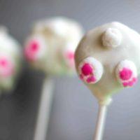 Bunny Bum Cake Pops