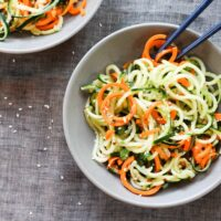 Asian Cucumber and Carrot Salad