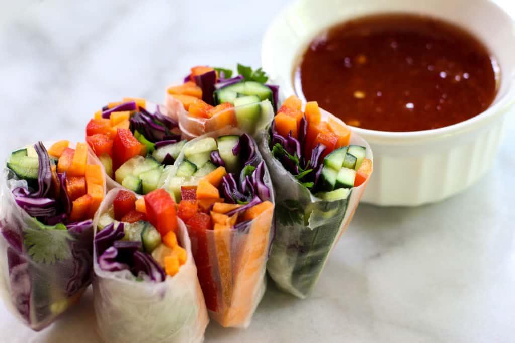 Veggie Rolls | The Culinary Compass