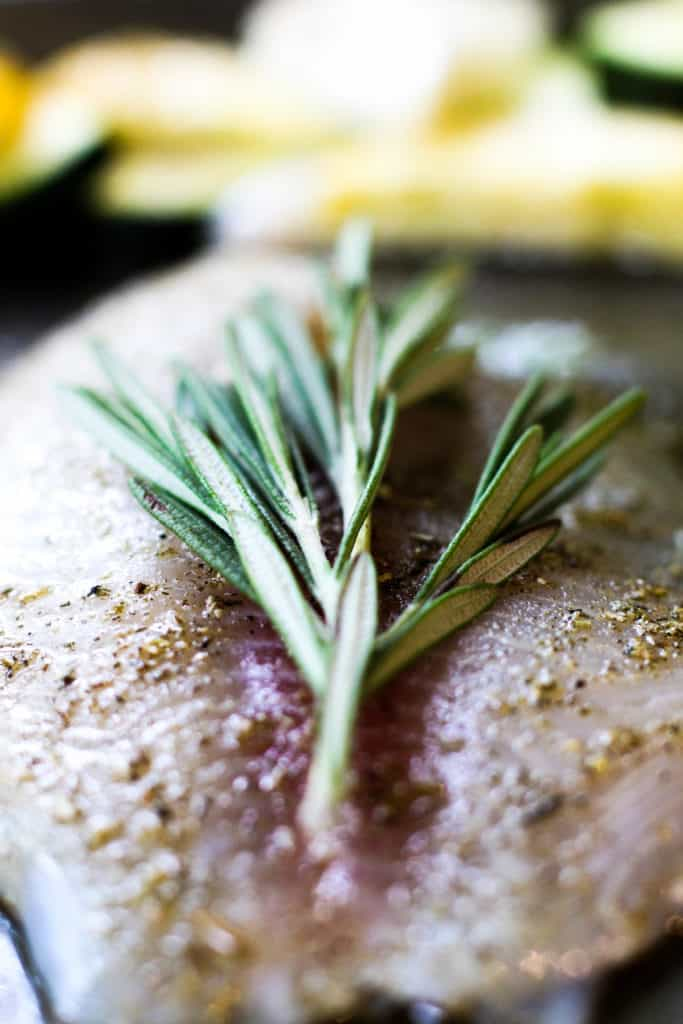One Pan Herbed Tilapia & Squash | The Culinary Compass