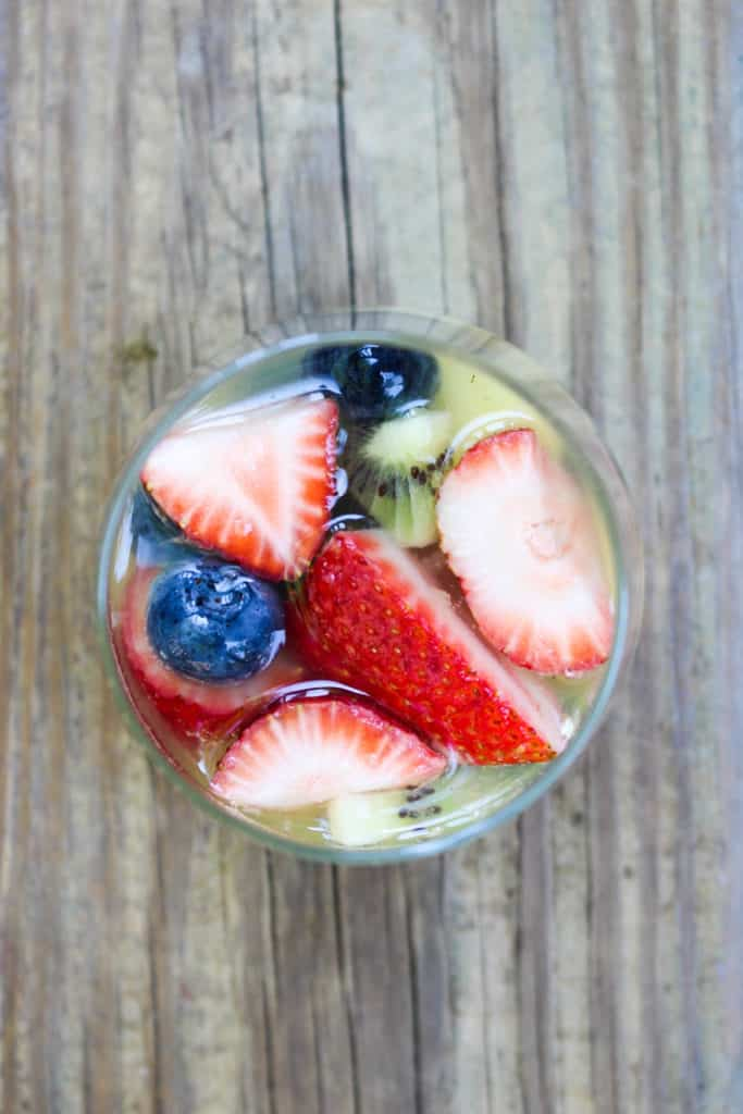 This Summer Sangria is the perfect way to cool off on these hot summer days!