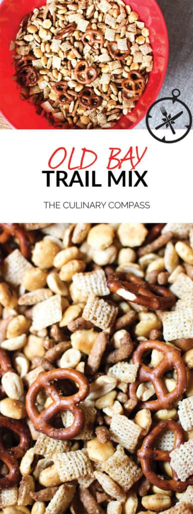 This Old Bay Trail Mix is an easy and flavorful take on the classic!