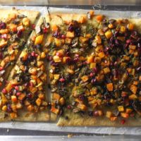 Fall Veggie Pizza #SundaySupper