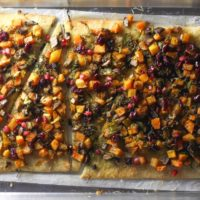 This Fall Veggie Pizza is packed with warm fall flavors and is so easy to make!