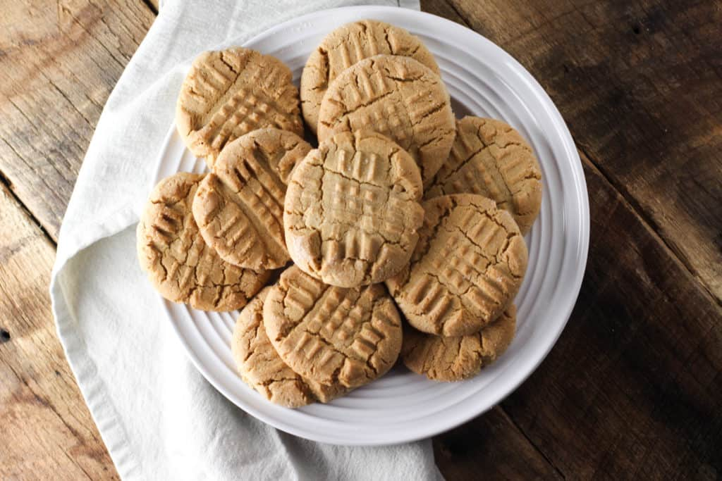 These Classic Peanut Butter Cookies are easy to make and will always be a crowd-pleaser!