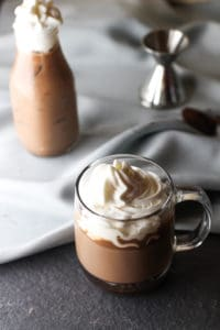 This Hazelnut Mocha is such an easy drink to make. You can never go wrong with a hazelnut, chocolate, and coffee combo!