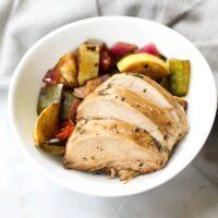 Veggie Chicken Meal Prep Bowls