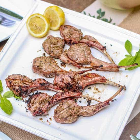 Mint Marinated Aussie Lamb Chops