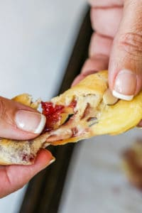 These Baked Brie Crescent Bites are perfect individual servings of the classic appetizer!