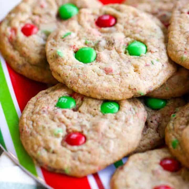 Mom's M&M Cookies