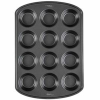 Non-Stick Bakeware Muffin and Cupcake Pan, 12-Cup