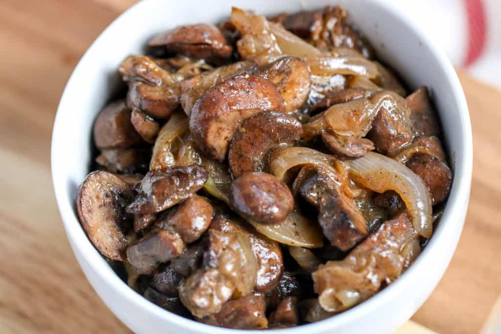 Caramelized Onions and Mushrooms
