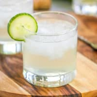 Cucumber Vodka Elderflower Cocktail