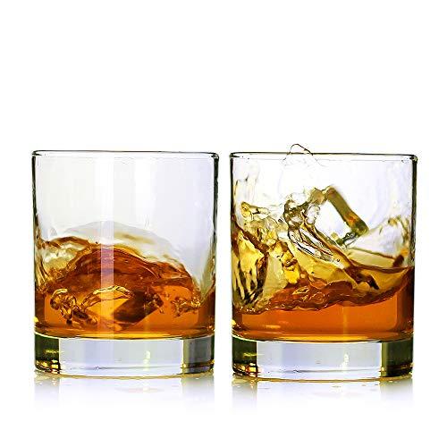 Whiskey Glasses, Set of 2, 11 oz